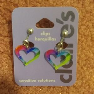 Claire's Clip On Earrings